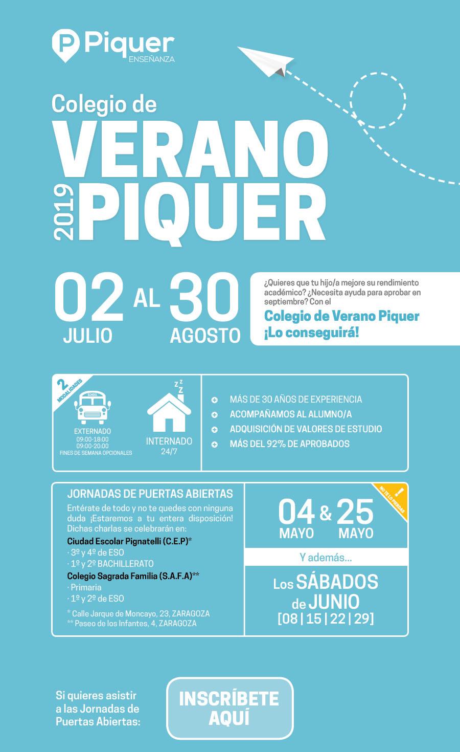 Colegio de Verano Piquer 2019