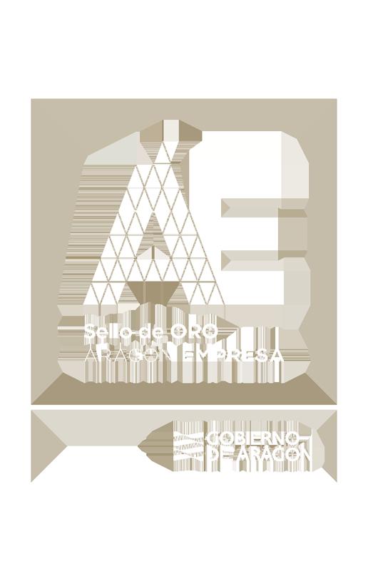 Aragón Empresa - Sello Oro